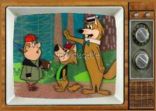 "HOKEY & DING-A LING WOLF TV Fridge MAGNET 2"" x 3"" SATURDAY MORNING CARTOONS"