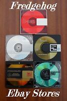 5 x TOP QUALITY 74 MINUTE BLANK MINIDISCS - ASSORTED BRANDS - WITHOUT CASES