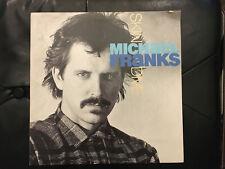 Michael Franks Skin Dive Vinyl Lp 1985
