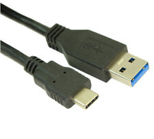 3ft USB 3.2 Gen 1 Type-C Male to Type-A Male Cables  5Gbps  Black