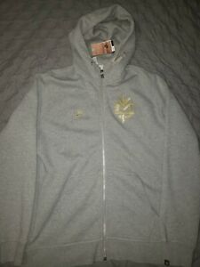 Nike Team Manny Pacquiao AW77 Gray Size XL Boxing Rare Hoodie BNWT