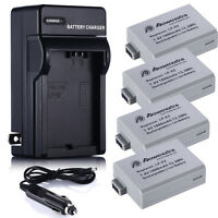 1800mAh LP-E5 LPE5 Battery +Charger For Canon Rebel Xs Xsi T1i 450D 1000D Kiss F