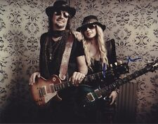 Orianthi signed 8x10 photo with Richie Sambora