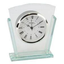 Glass Art Analogue Desk, Mantel & Carriage Clocks