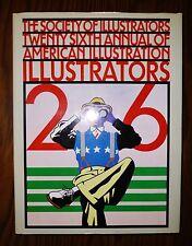 ILLUSTRATORS 26 by Society of Illustrators NF/VG+ HC 1st Ed FREE USPS ship