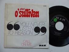 GILBERT O SULLIVAN You never listen to reason  86516  pressage France  RRR