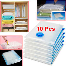 10Pcs 100x80cm Vacuum Storage Bag For Clothes Saving Bag Vaccum Pack Saver UKES