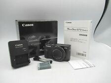 Canon PowerShot G7 X Mark II Digital Camera Free Ship JP USED