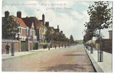 NEWMARKET The Avenue, King's Entrance to Jockey Club Rooms, Postcard Sent 1905
