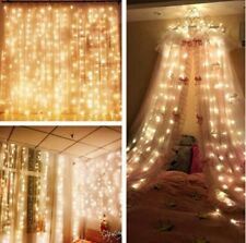 Mzd8391 Curtain String Lights, 9.8 X 9.8ft 304 Led Starry Fairy Lights For Bed