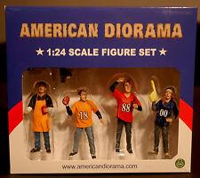 77596 American Diorama, Tailgate Party Set of 5, 1:24, neu 2016 neu, neu