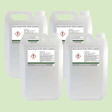 Benzyl Alcohol 99.9% USP,Ph Eur,BP,ACS 4 x 5 Litre (20L)