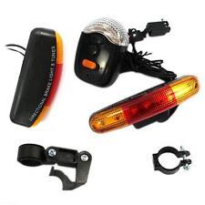 Unique 7 LED Bike Bicycle Cycling Stop Brake Light Turn Signal Night Lamp