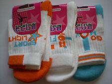 Gi2325   3 paires de chaussettes garçon *** SPORT - FUN - CLUB *** P 31/34 NEUF