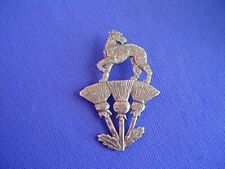 Scottish Deerhound Irish Wolfhound pin #16j Pewter Dog Jewelry b Cindy A. Conter