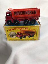 Vintage Matchbox Series #17 8-Wheel Tipper W/Box