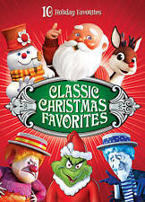 Classic Christmas Favorites (DVD, 2013, 4-Disc Set) Brand New