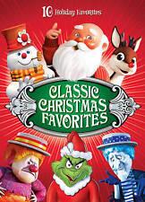 Classic Christmas Favorites (DVD, 2013, 4-Disc Set) NEW