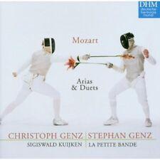 Mozaart: Arias And Duets (Arie & Duetti) / C. Genz, S. Genz, Kuijken, Et Al - CD