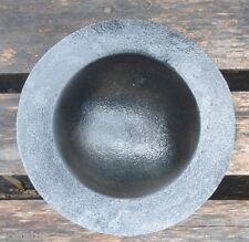 "NEW plastic mold half sphere 8"" W concrete plaster mold"
