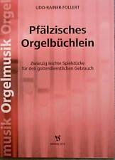 Kirchenorgel Noten : Pfälzisches Orgelbüchlein leicht - lei Mittelst. MANUALITER