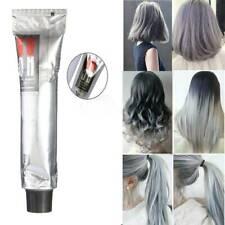100 ml Fashion Light Gray Color Natural Permanent Super Hair Dye Cream ni