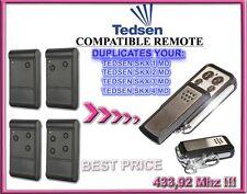 TEDSEN SKX1MD, SKX2MD, SKX3MD, SKX4MD Compatible remote control, clone 433,92MHz