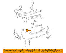 TOYOTA OEM 07-11 Yaris Rear Bumper-Side Support Right 5257552142