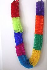 LARGE Mexican Paper Banners String) - Papel Picado Multicolor Holidays