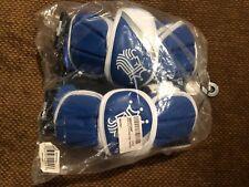 Brine King V (5) Lacrosse Arm Pads Large Royal Blue/White/Gray K5Ap15-Rll