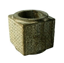 CHINESE HAN DYNASTY JADE CONG - WELL CALCIFIED
