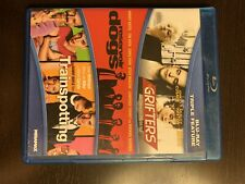The Grifters, Reservoir Dogs, Trainspotting (Blu-ray, 2015) Oop and Very Rare