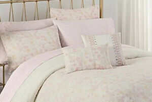 Cupcakes and Cashmere Floral Rose Twin Extra Long TXL Bed Set In Bag