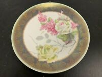 "Antique O & EG Royal Austria Hand Painted ROSES Artist Signed 9"" Plate"
