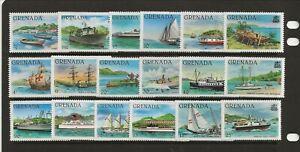 GRENADA Sc 1002-20 LH issue of 1980 - SHIPS & BOATS. Sc$25+