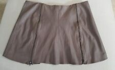 JOIE Mini Skirt Women's Size Small Very Soft Leather ~ EUC ~