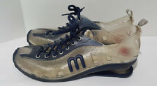 I LOVE MELISSA Love System Now Navy Blue Clear PVC Shoes Sneakers US 9 / EU 40