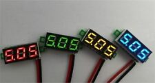 "0.28"" Dc Digital Voltmeter Panel Mount Led Voltage Volt Meter Red 2.50~30V New I"