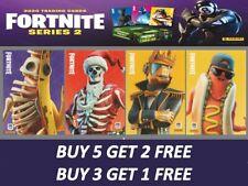 More details for fortnite series 2 trading cards (you choose) legendary, holo/foil & optichrome