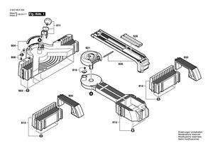 BOSCH PLS 300 Sägestation original Bosch Ersatzteile