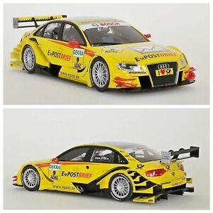 1/18 NOREV Audi A4 DTM 2011 N°9 Team Abt Sportsline Kristensen Free Domicil