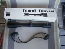 Zeiss Diavari  Z  2.5-10x48mm T*  Rifle Scope