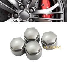 4x Locking Wheel Lug Bolt Center Nut Covers Caps 25mm For AUDI A4 A5 A6 VW Skoda
