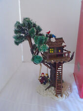 1999 SANTA'S WORKBENCH COLLECTION VILLAGE TREE HOUSE