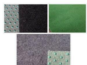 Kunstrasen Rasenteppich grau / schwarz oder grün 2 & 4 Meter Breite F-Line