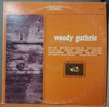 WOODY GUTHRIE (S/T) LP  1965 Archive Of Folk Music