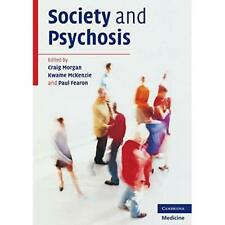 Society and Psychosis Paperback Cambridge University Press 9780521689595