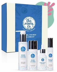 The Moms Co. Natural Vita Rich Complete Face Care with Face Wash, Cream, Serum a