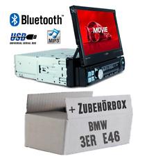 Caliber Autoradio für BMW 3er E46 Bluetooth/MP3/USB/SD/7' TFT Auto KFZ Einbauset