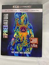 The Predator (4K Ultra HD + Blu-ray + Digital) NEW with slipcover Free Shipping